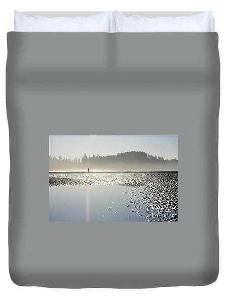 Ethereal Reflection Duvet Cover