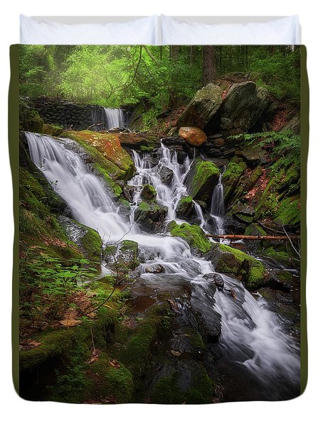 Duvet Cover featuring the photograph Ethereal Solitude by Bill Wakeley