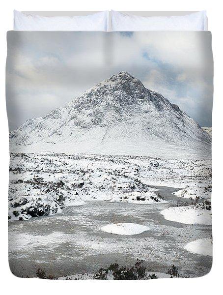 Etive Mor Winter Duvet Cover