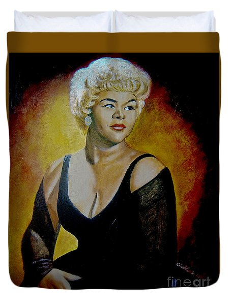 Etta James Duvet Cover