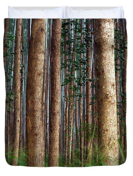 Eucalyptus Forest Duvet Cover