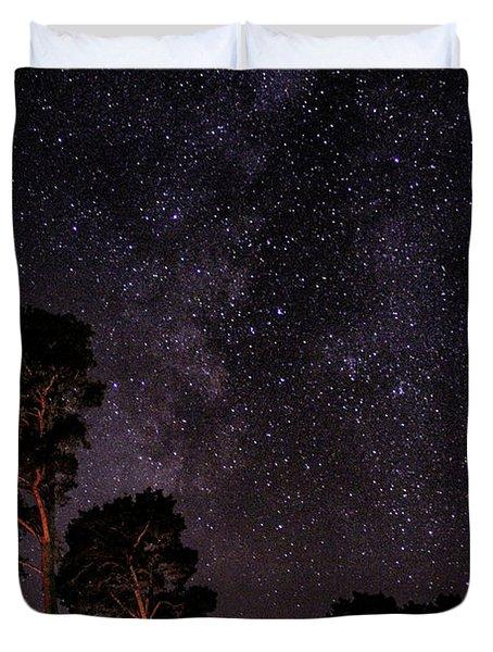 Eucalyptus Galaxy Duvet Cover