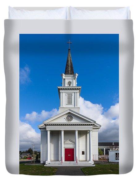 Eureka Church Duvet Cover