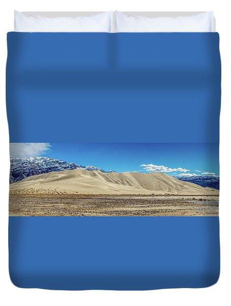 Eureka Dunes - Death Valley Duvet Cover
