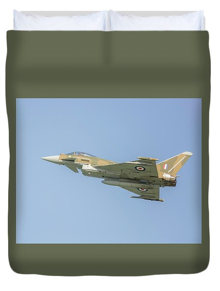 Euro Fighter Duvet Cover by Roy McPeak