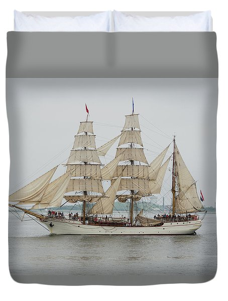 Europa Duvet Cover by Mike Ste Marie