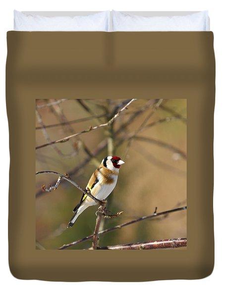 European Goldfinch 2 Duvet Cover