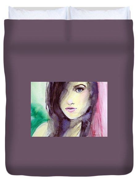 Olivia Duvet Cover by Ed  Heaton