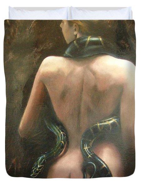 Eva Duvet Cover by Sergey Ignatenko