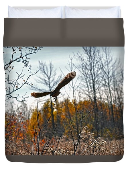 Evanescent Beauty Of Woodlands Duvet Cover