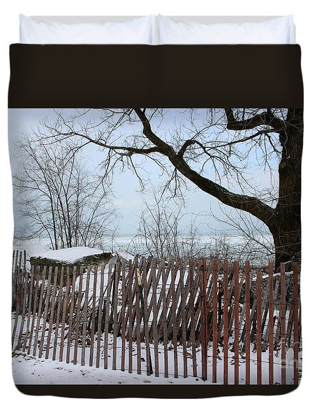 Evanston Winter Duvet Cover