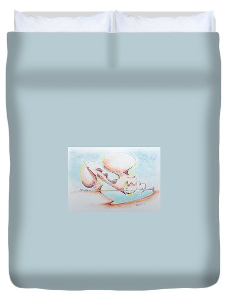 Evaporation Duvet Cover
