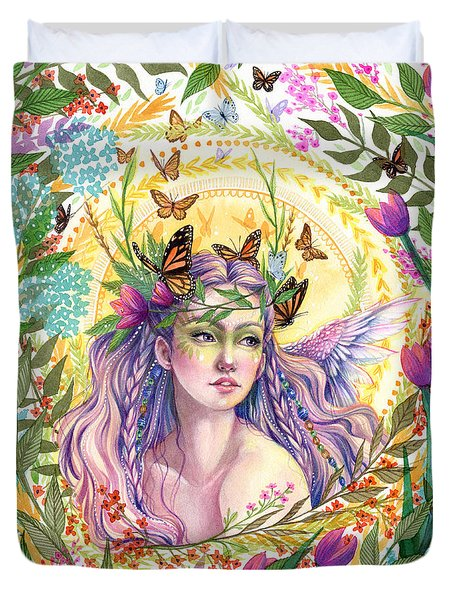 Eve Duvet Cover by Sara Burrier