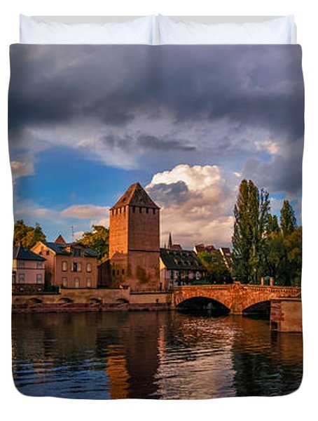 Evening After The Rain On The Ponts Couverts Duvet Cover