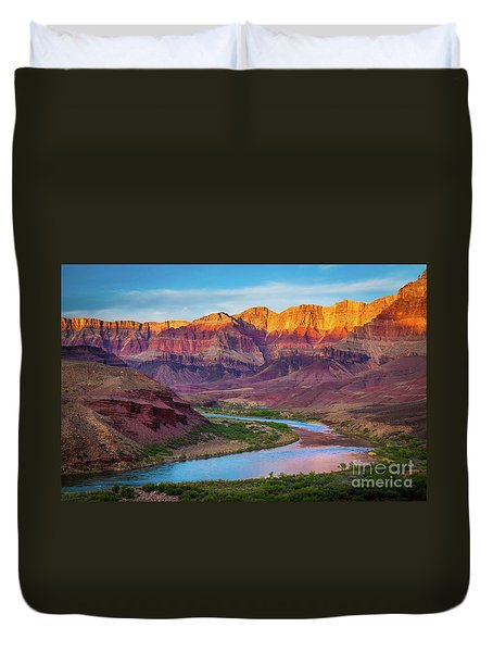 Evening At Cardenas Duvet Cover