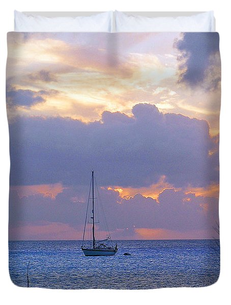 Evening Calls Duvet Cover