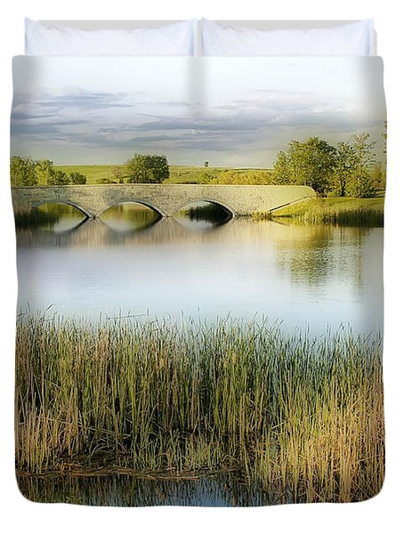 Evening Calm Duvet Cover by Teresa Zieba
