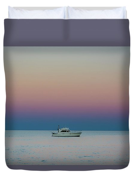 Evening Charter Duvet Cover