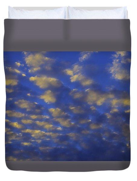 Evening Clouds Duvet Cover