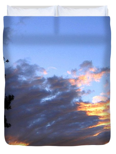 Evening Color Duvet Cover by Will Borden