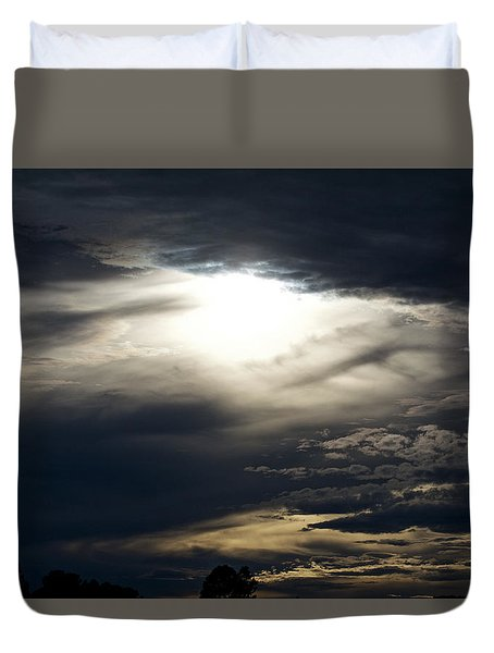 Evening Eye Duvet Cover