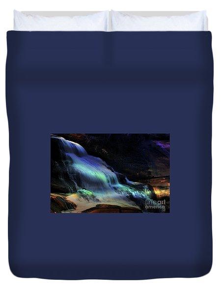 Evening Falls Duvet Cover