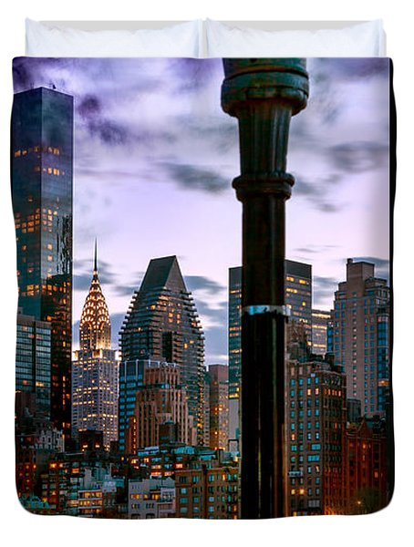 Evening Glow Duvet Cover