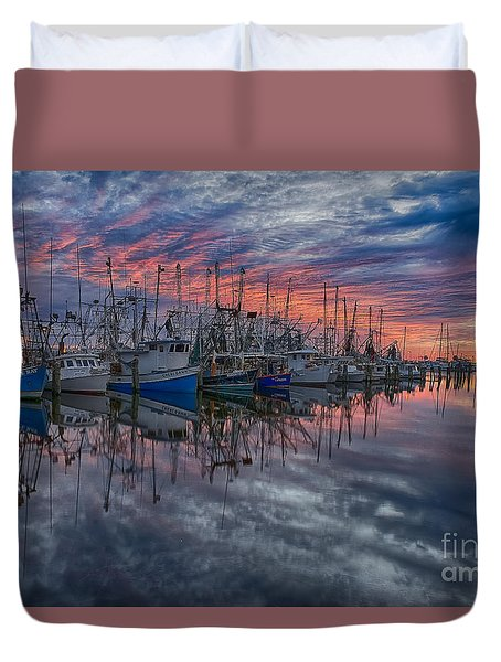 Evening Glow Duvet Cover by Brian Wright