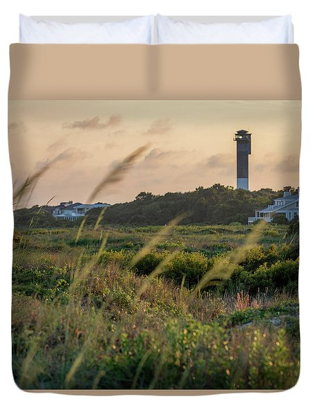 Evening Light Sullivan's Island Duvet Cover