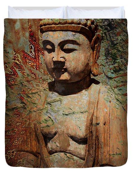 Evening Meditation Duvet Cover