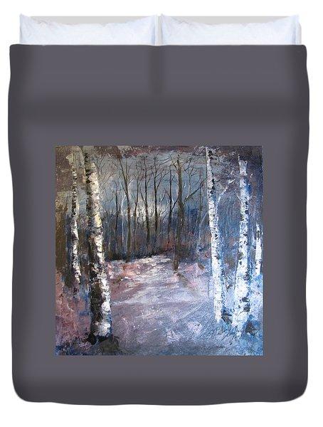 Evening Medow Duvet Cover