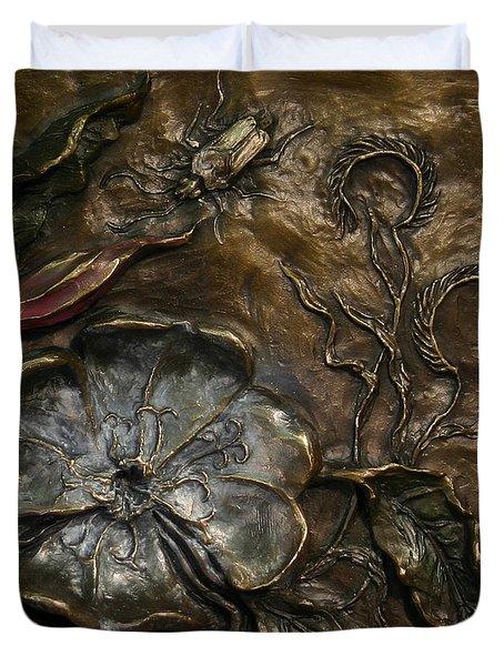 Evening Primrose Duvet Cover by Dawn Senior-Trask