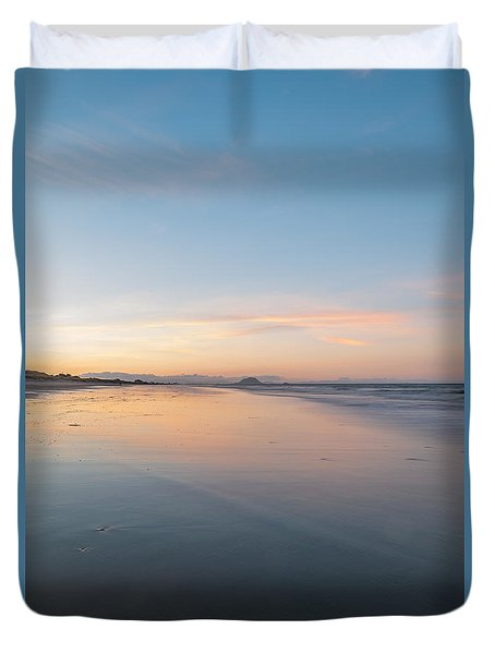 Evening Reflection Duvet Cover