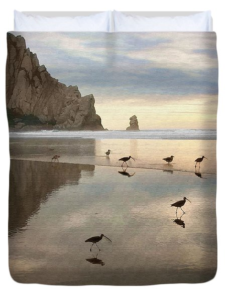 Evening Reflection Duvet Cover by Sharon Foster