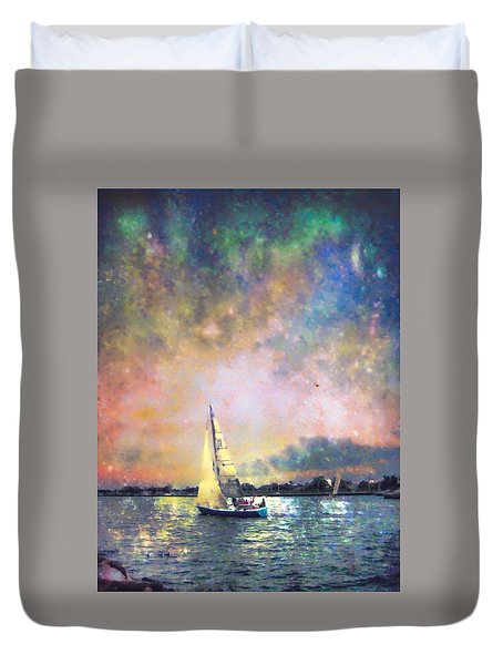 Evening Sail Duvet Cover