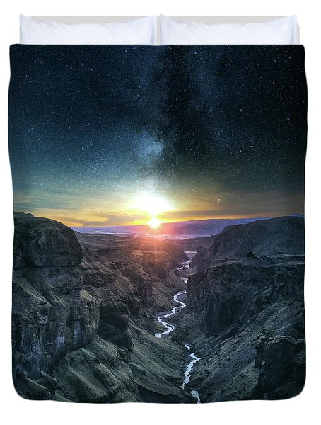 Evening Sky Duvet Cover