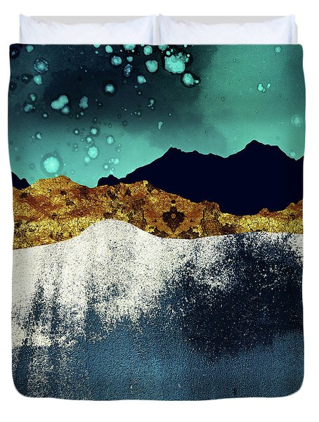 Evening Stars Duvet Cover