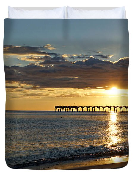 Evening Sunlight Duvet Cover