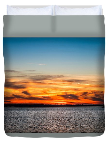 Evening Time Duvet Cover by Doug Long