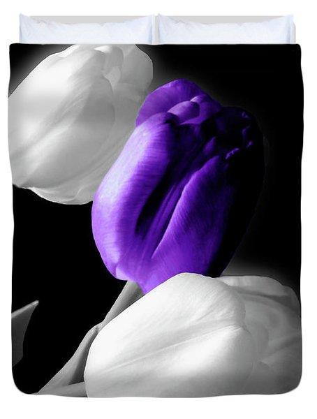 Evening Tulips 3 Duvet Cover