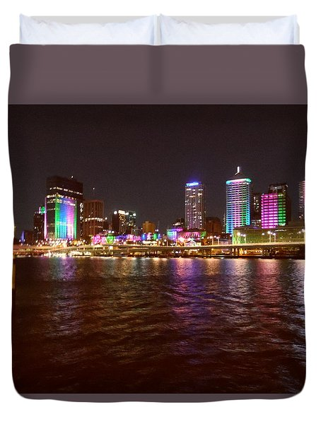 Evening View - Southbank Duvet Cover