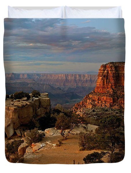 Evening Vista Duvet Cover