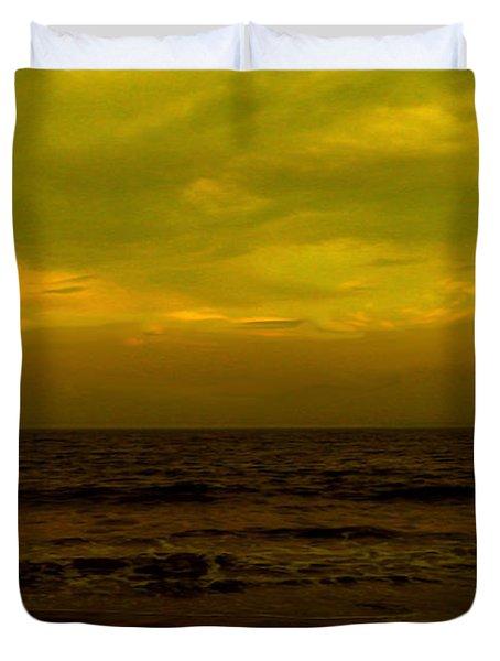 Evening's Contemplation Duvet Cover