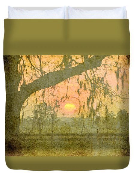Evenings In Our Life Together Duvet Cover
