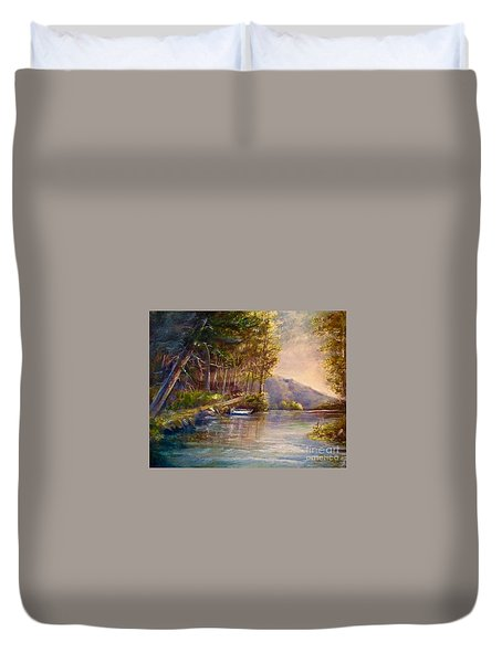 Evening's Twilight Duvet Cover