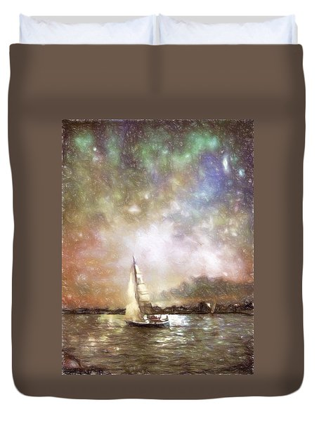 Evensail Duvet Cover