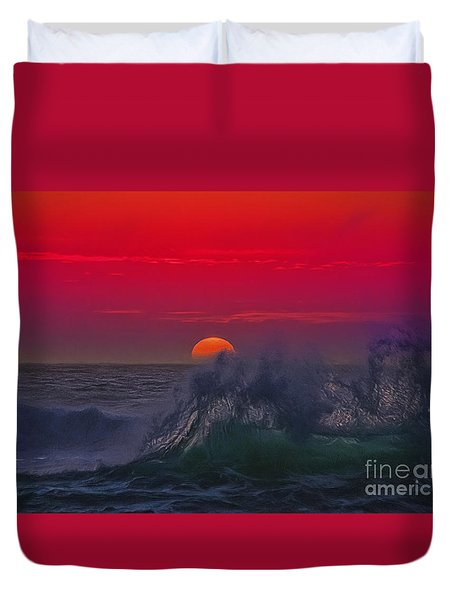 Eventide Duvet Cover by Billie-Jo Miller