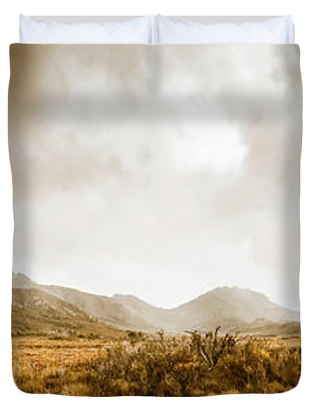 Ever Expansive Tasmania Duvet Cover