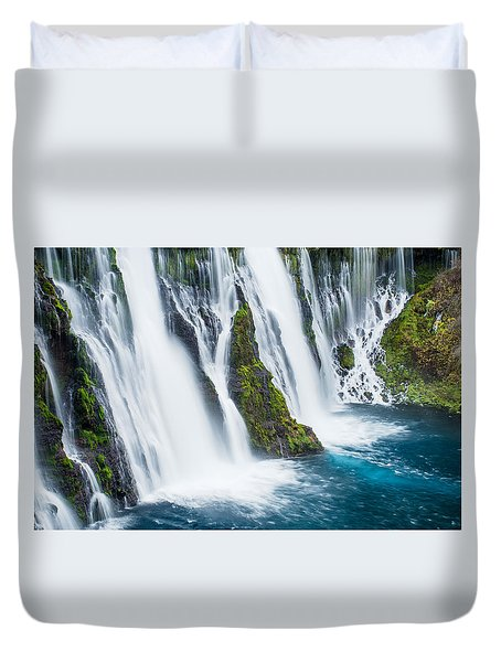 Ever Flowing Duvet Cover