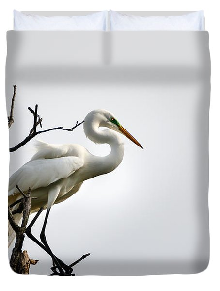 Ever Vigilant Duvet Cover
